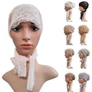 Moslemische Frauen underscarf Spitze Beanie Mütze Islamische Turban Kopfbedeckung arabische Ninja Chemo Cap Haarausfall Hat Headcarf Unter Schale Abdeckung