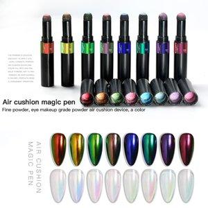 Smalto per unghie Aurora Magic Pen Solid Phantom Mirror Mirror Flash polvere metallica Gel UV per Nail Polish lucidatura Solid Chalk TSLM1