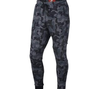 2017ONK AS M NSW TCH FLC WR AOP PANTS Men's Camouflage Knit Running Pants