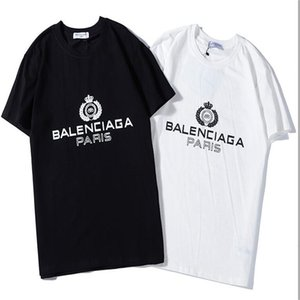 Hot sale! New men's stylist T-shirt high quality fashion outdoor fashion men's letter pattern short sleeve popular T-shirt