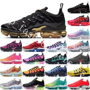 2020 Patrones Sliver EE.UU. Tn Plus para hombre de los zapatos corrientes persa Violeta medianoche Armada Real Juego Triple diseñador de las mujeres zapatillas de deporte 36-45