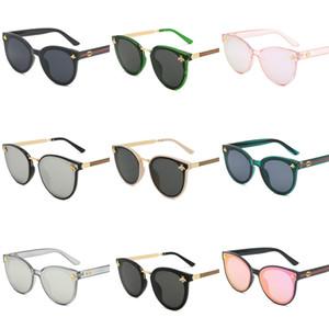 El más reciente FAME 2034 Marco de sol de la manera deslumbra el color de Mercurio Reflectores Marco grande Gafas de sol Gafas de sol Deportes Gafas para hombre Gafas de sol # 871