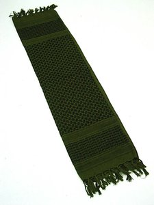 US-Verpackungsschal Arab SAS Shemagh Kafiya Schal Maske OD Green CB