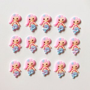 NEW 100pcs lot Cute flatback DIY hair bow accessories shower decoration Center Crafts Y200710