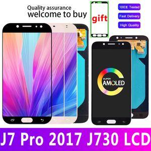 Original Amoled For Samsung Galaxy J7 Pro 2017 J730 J730F LCD Display Screen Digitizer Assembly J730F J730GM J730G