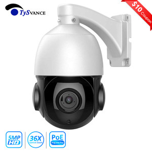 PoE Mini Speed ​​Speed ​​Dome Camera 4 بوصة HD 5MP 40X Zoom PTZ IP كاميرا Onvif 5.0mp CCTV الأمن المراقبة P2P