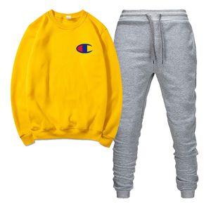 designer fashion men's hoodie suit sportswear mens and womens sweatshirts sports pants autumn winter fleece hooded pullover New sportswea