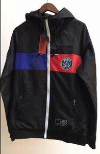 Paris 2019-20-21 temporada Man City hoodies do revestimento AGUERO poeira De Bruyne sportswear STERLING completa zipper casaco corta-vento