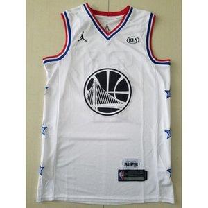 2019-20 New season #30 CURRY basketball jerseys TOP WHITE Cheap stitched Basketball jerseys