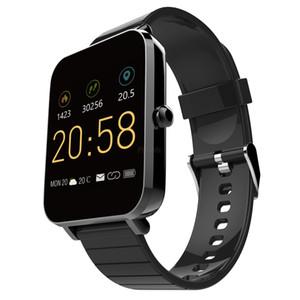IP68 wasserdicht Z12 Smartwatch-Support-Telefon erinnert Herzfrequenz mit GPS-Überwachung Track Record Multi Funktion Smart-Armbänder Uhr