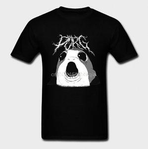 Les hommes T-shirt T-shirt O-Neck manches courtes Nouveau style PORG Kvlt PORG T-shirt en coton imprimé