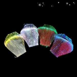 IK005 HOT! LED تضيء الأزياء الملونة قناع الوجه مصمم قناع الوجه هالوين قناع BWA247