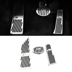 Non-foratura Pedale auto a gas combustibile del freno Accelerator rilievo copertura di caso resto del piede Telaio Accessori interni per la BMW X1 F48 2016-2020