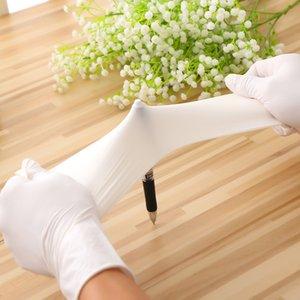 Nueva desechable de nitrilo guantes de látex especificaciones guantes de goma guantes Guantes de grado B opcional de limpieza al por mayor una