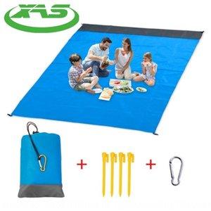 Cep piknik açık kamp plaj su geçirmez Meal mat yemek mat ekose poliester piknik battaniye
