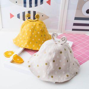 New Spring Summer Baby Hat Cute Girls Hat Heart Print Cap For Boy Sun Hats Accessories children's cap Photography Props