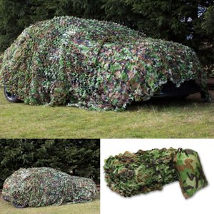 Camouflage Net Hunting Camo Netting Training Camo Netting 2x3  3x5m 4x6m Car Covers Camping Sun Shelter Tent Shade