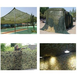 1pc Hunting Camouflage Nets Woodland Army training netting Car Covers Tent Shade Camping Sun Shelter