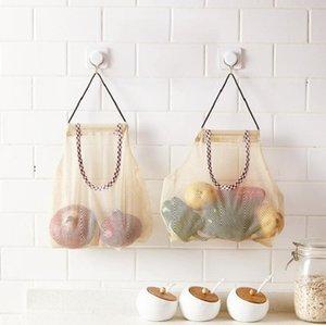 Meyve Sebze Meyve ve Sebze depolama ızgara net çanta yaratıcı kozmetik yıkama ızgara muhafaza örtüsü asılı çanta asılı asmak