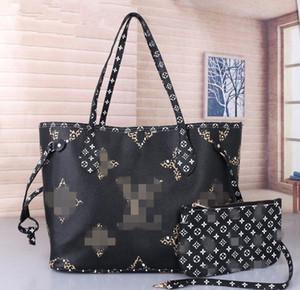 06women handbags ladies designer composite bags lady clutch bag shoulder tote female purse wallet 2pcs set GgYSL