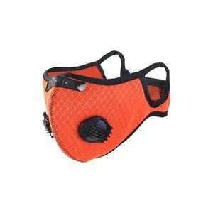 Máscara de ciclismo para deportes al aire libre Máscara de válvula de respiración para hombres y mujeres con elemento de filtro Anti-Smog Anthust Face MAKS BWA2570