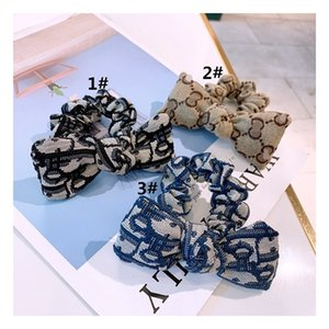 Girls Hairbands Fashion Bow Children Ribbon Elastic Headbands For Women Hair Accessories Teenager Girls Classic Hair Ropes
