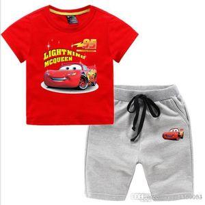 New summer cuhk children's wear han version of boys and girls summer children's suit trouser set