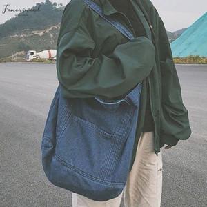 Denim Shoulder Hand Bag For Woman Shoulder Bag Crossbody 2020 New Casual Jeans Bags Women Handbags Denim Sac Denim A Main Bolsos