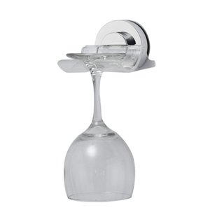 New Bath & Shower Suction Cup Holder ABS Plastic Caddy Wine Sucker Cup Holder Phone Shaver Shelf Removable Storage Rack HX0412