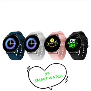 Newest X9 Smart Bracelet Fitness Tracker Smart Watch Heart Rate Watchband Smart Wristband For Apple iPhone Android Phone with Retail Box