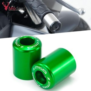 """New With Z 250 300 400 Logo 7 8"""" 22mm Aluminum Motorcycle Handlebar Grip End Plug Handle Bar End Cap For Z250 Z300 Z400"""