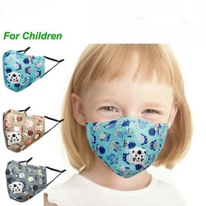 Design unico del fumetto degli animali respiratore bambini Maschera per il viso Kawaii Anime Bambini Bocca bambini viso Breath Animal Mask rubinetto design Mask