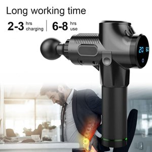 New Model High Qualith min Electric Muscle Massager Therapy Fascia Massage Gun Deep Vibration Muscle Relaxation Fitness Equipment Must