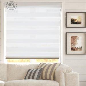 dekoratif ışık filtreleme gizlilik zebra gölgeleme ev T200718 kör