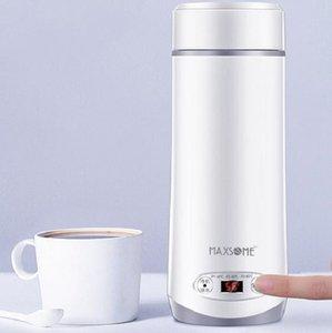 Bouilloire électrique bouteille tasse électrique Voyage multi-fonctionnel de pliage à chaud tasse d'ébullition de la chaudière portable d'isolation thermique intelligente