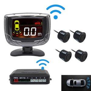 Auto-Parken-Sensor-Kit Wireless-Wiring-frei Wifi Probe Beep-Hilfe-Park Sensoru Radar-Monitor-System ermittelnabstands Detector