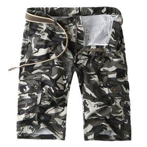 Mens Hot Model Sommer Camouflage Shorts Arbeitskleidung Multi Pocket-Hose Outdoor Casual Sport Hosen-Mann-beiläufige Kurzschlüsse