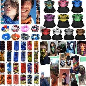 multiple styles Printed Headband Bandana Scarf Multifunctional Seamless Face Mask Tube Ring Scarf Men Women DA402