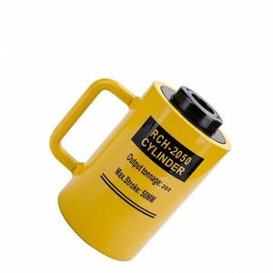 hidráulico oco 20 do cilindro hidráulico 50 milímetros tonelada jaque êmbolo oco, do êmbolo oco, RCH-2050 sf4i #
