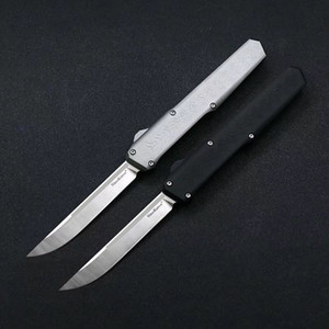 SLM Combat Çift Eylem Taktik Otomatik Bıçak D2 Çelik Mikro UT85 BM 3300 3310 Bounty Hunter BM42 Benchmade Scarab Pocket Survival Knife