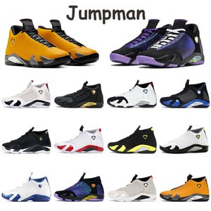 New Supblack Supwhite Jumpman Schuhe 14s Basketball-Trainer Desert Sand Gym Red Tumult Schwarzer Toe Hummel Chaussures Hohe Herren Turnschuhe