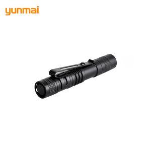 Kleiner Penlight mit Klipp-Taschen-Portable Lampen Taschenlampen-Aluminiumlegierung Exquisite Led Mini Water Resistant Laterne