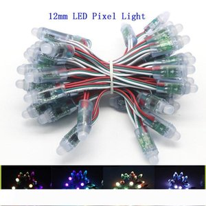 WS2811 LED Pixels Module String 12mm Full Color Individually Addressable Digital RGB LED Rope Light DC5V IP68 Waterproof