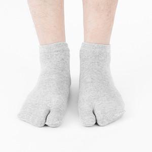 Calcetines del dedo del hombre Lady Finger-separado Olor resistente algodón poliéster Spandex Tobillo calcetería Deportes Fitness Footwear *