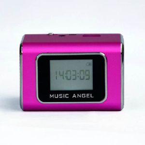 MP3를 LCD 화면 디지털 스피커에 FM 라디오 라인 Origianl 음악 천사 JH-MD05X 휴대용 USB TF 카드 들리는 스피커