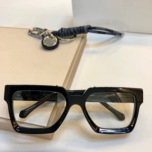 2020 Роскошные высокое качество L96006 квадратный дизайн Модные солнцезащитные очки кадр импортировала чистый таблетка рецепт очки полный UV400 коробки