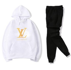 NEW set sweatsuit Designer Tracksuit Women Men hoodies+pants Mens Clothing Sweatshirt Pullover Casual Tennis Sport Tracksuits Sweat Suits