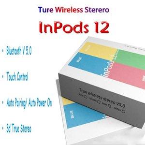 écouteurs i12 TWS inpods 12 Bluetooth 5.0 pour casque avec Bluetooth Touch Control casque d'auto-couplage PK i10 i11 i12