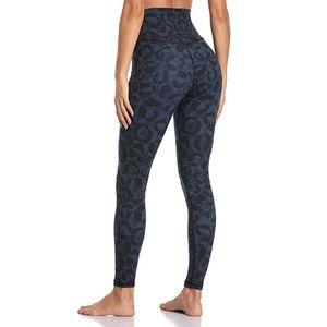 2020 New leopardo cintura alta Hip Push Up Yoga Leggings Mulheres High Elastic Magro Gym Workout calças apertadas roupa da aptidão