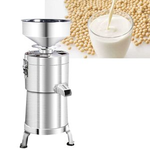 Stainless Steel High Quality Soybeans milk maker grinder, Commercial Use Soya Bean Milk Grinder Slag Pulp Separator Machine 100 Type